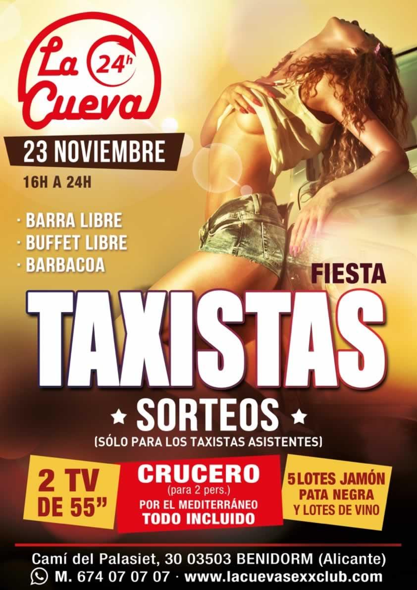 La Cueva Sexx Club · ¡Fiesta Taxistas!