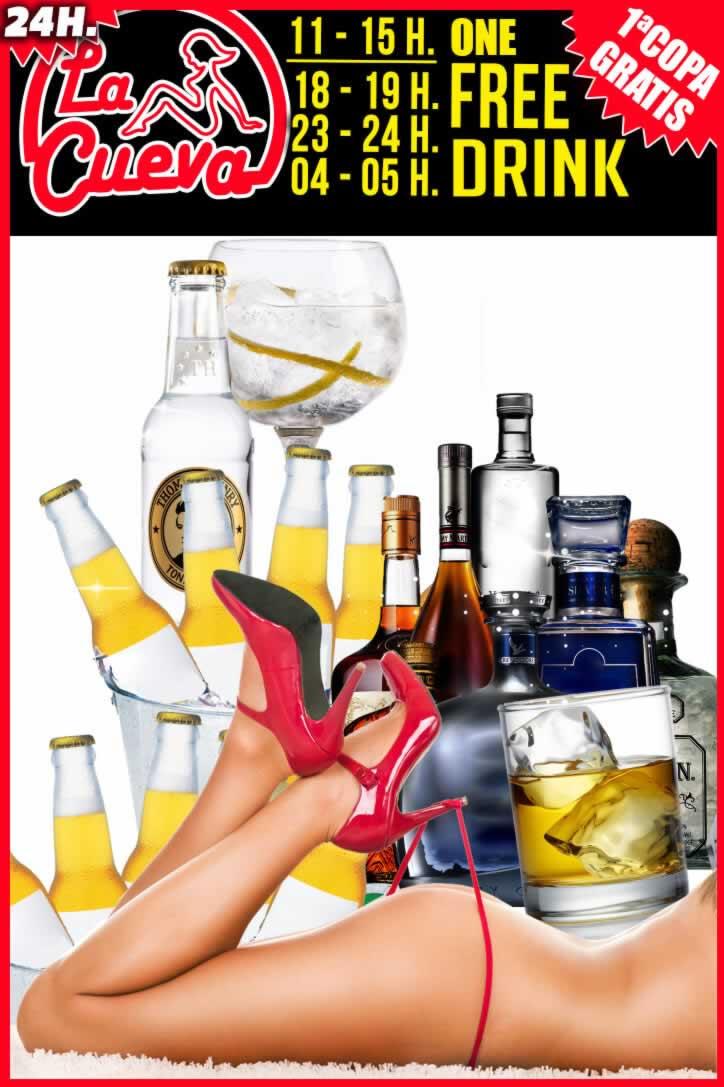 ¡1 Free Drink!
