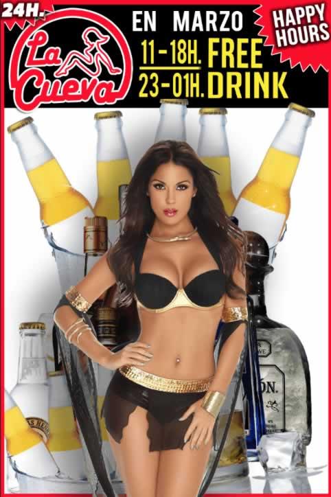 La Cueva Sexx Club · ¡Happy Hours!