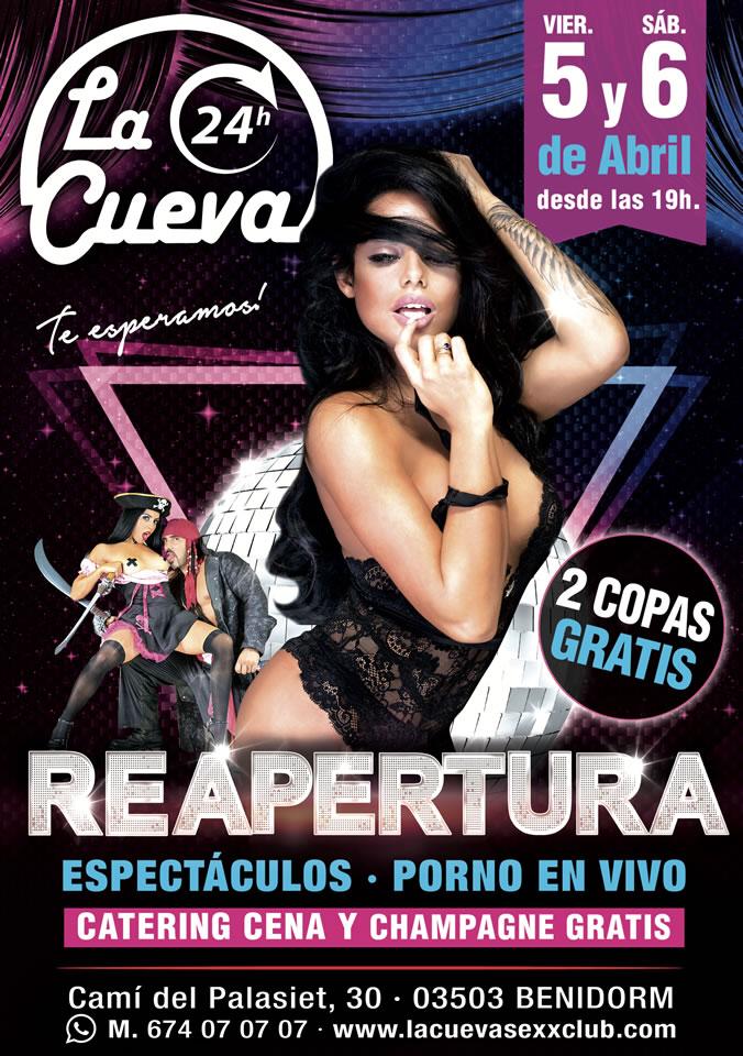 La Cueva Sexx Club · ¡Fiesta Reapertura 2019!