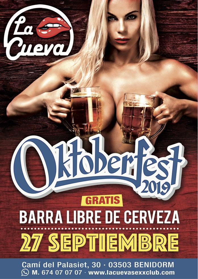 La Cueva Sexx Club · ¡Oktoberfest 2019!