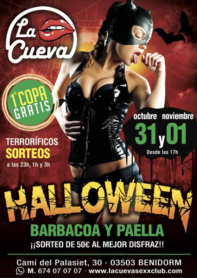 La Cueva Sexx Club · ¡Fiesta Halloween 2019!